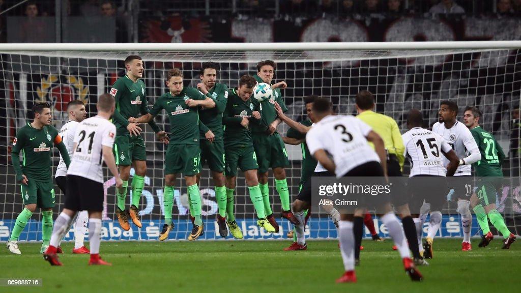 Eintracht Frankfurt v SV Werder Bremen - Bundesliga