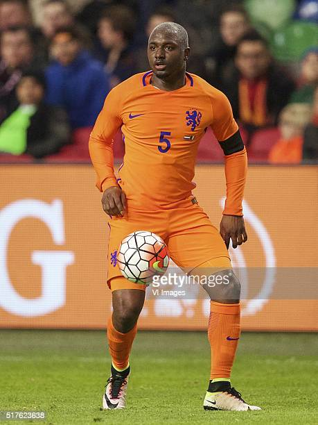 Jetro Willems of Holland during the friendly match between Netherlands and France on March 25 2016 at the Amsterdam Arena in Amsterdam The Netherlands