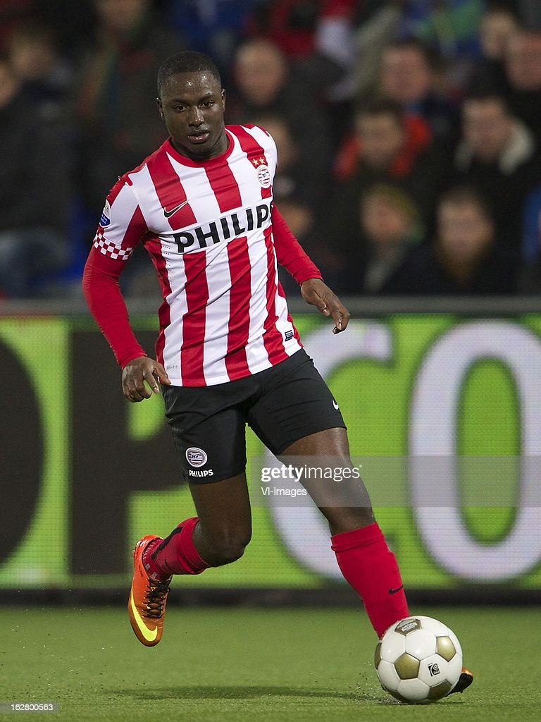 Jetro Willems of PSV during the Dutch Cup match between PEC Zwolle and PSV Eindhoven at the IJsseldelta Stadium on february 27, 2013 in Zwolle, The Netherlands
