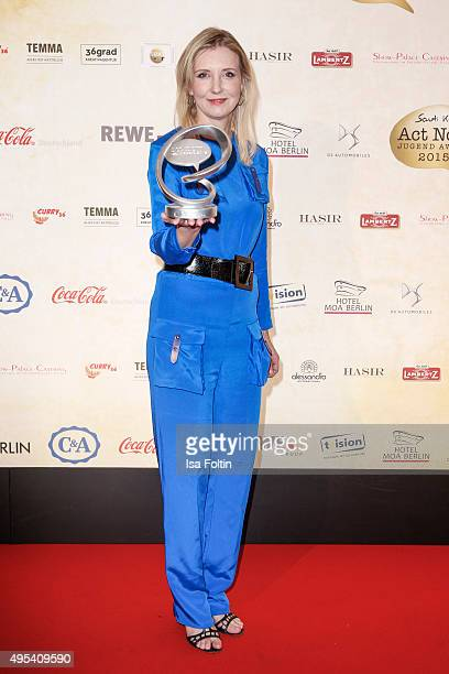 Jette Joop attends the 1st Act Now Jugend Award at FriedrichstadtPalast on November 2 2015 in Berlin Germany