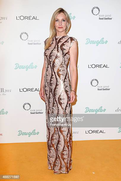 Jette Joop attends the Dreamball 2014 at the Ritz Carlton on September 11 2014 in Berlin Germany