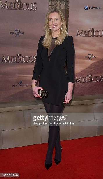 Jette Joop attends the German premiere of the film 'The Physician' at Zoo Palast on December 16 2013 in Berlin Germany