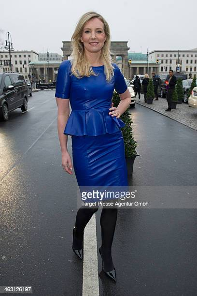 Jette Joop attends the Glaw show during MercedesBenz Fashion Week Autumn/Winter 2014/15 at Brandenburg Gate on January 16 2014 in Berlin Germany