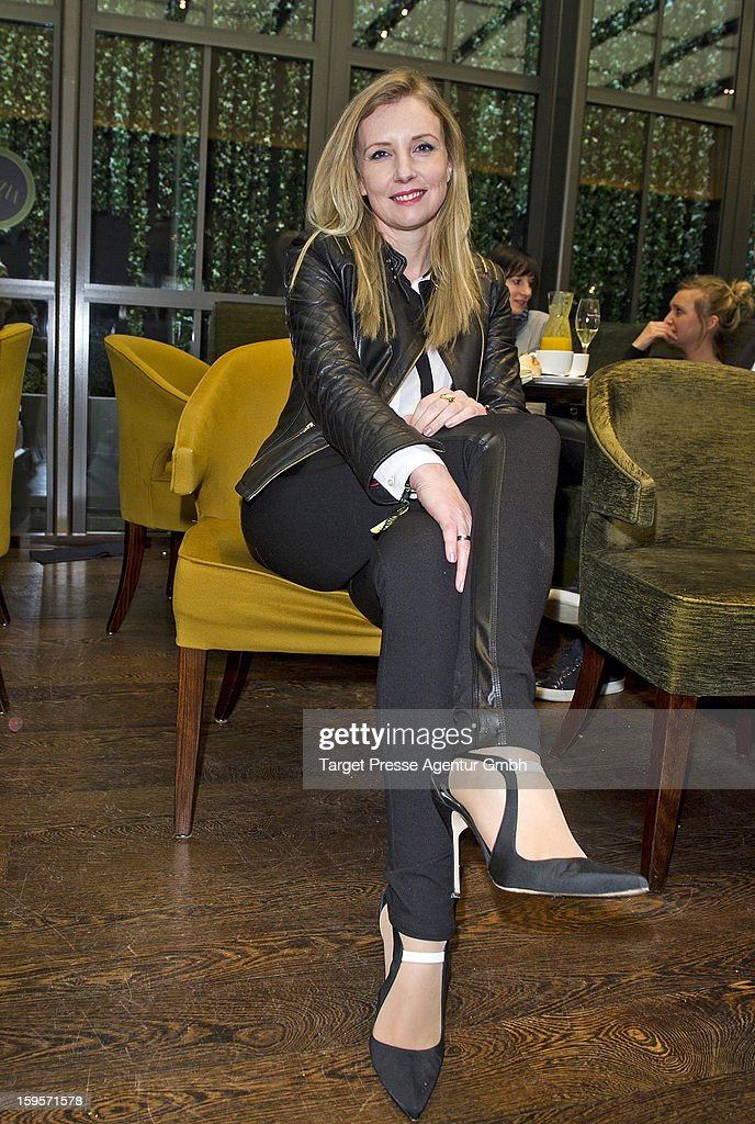 Jette Joop attends the Grazia Pop Up Casino during the Mercedes Benz Fashion Week Autumn/Winter 2013/14 at the Restaurant Uma on January 16, 2013 in Berlin, Germany.