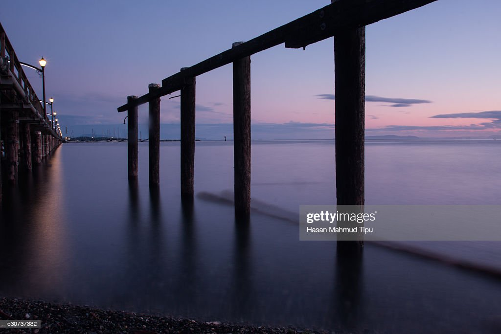 Jetty in Evening