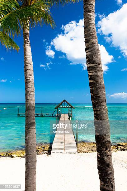 Jetty in paradise