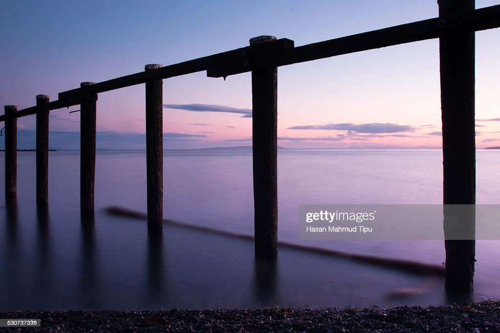 Jetty on Water