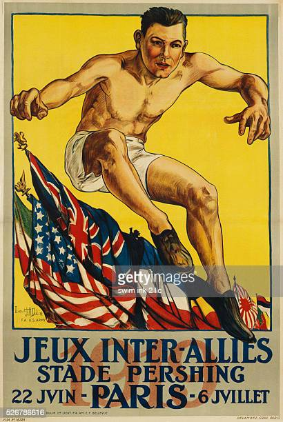Jeux InterAllies Sports Poster