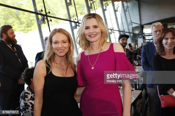 Jewel and Geena Davis attend 3rd Annual Bentonville Film Festival on May 2 2017 in Bentonville Arkansas