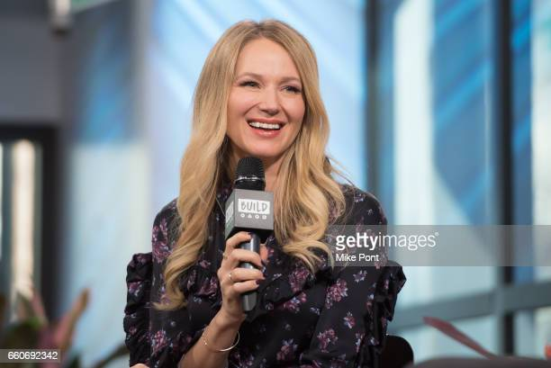 Jewel attends Build Series to discuss 'Concrete Evidence A Fixer Upper Mystery' at Build Studio on March 30 2017 in New York City