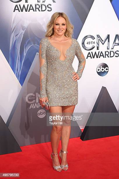 Jewel attends the 49th annual CMA Awards at the Bridgestone Arena on November 4 2015 in Nashville Tennessee
