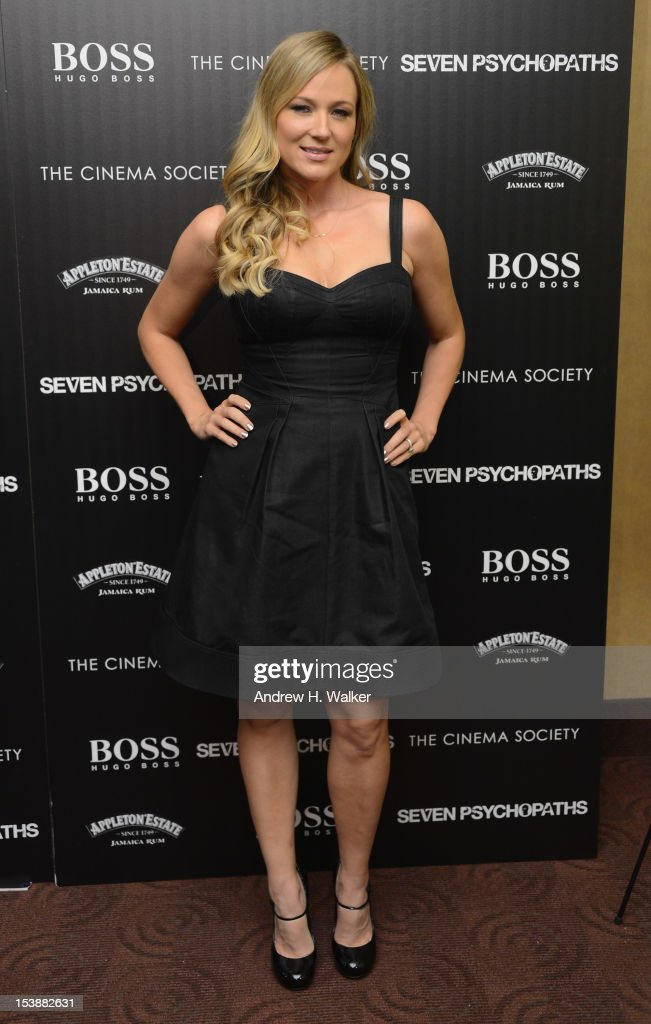 Jewel attends The Cinema Society with Hugo Boss and Appleton Estate screening of 'Seven Psychopaths' at Clearview Chelsea Cinemas on October 10, 2012 in New York City.