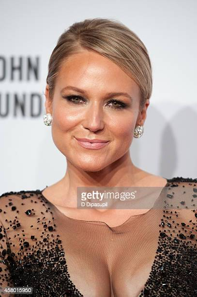 Jewel attends the Elton John AIDS Foundation's 13th Annual An Enduring Vision Benefit at Cipriani Wall Street on October 28 2014 in New York City