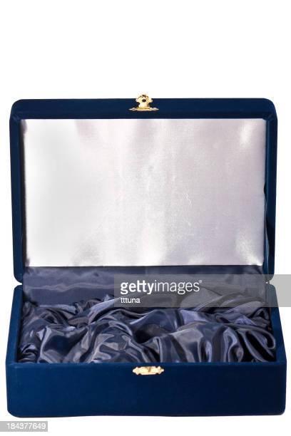 jewel box, découpe sur un arrière-plan blanc