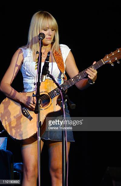 Jewel during Jewel in Concert at The Joint at the Hard Rock Hotel June 13 2004 at The Joint at the Hard Rock Hotel in Las Vegas Nevada United States