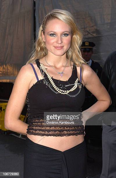 Jewel during MTV and VH1 Present '100% NYC A Concert Celebrating The Tribeca Film Festival' Backstage at Battery Park City in New York City New York...