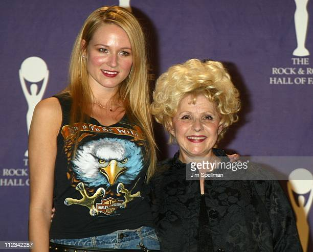 Jewel Inductee Brenda Lee during The 17th Annual Rock And Roll Hall Of Fame Induction Ceremony Press Room at Waldorf Astoria in New York City New...