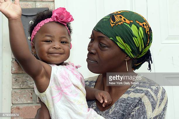 Jewel Miller holds her 1yearold daughter Legacy whose father is Staten Island chokehold victim Eric Garner Legacy is in line to receive the largest...