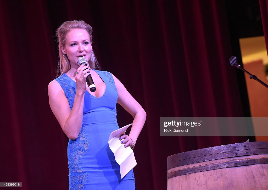 Jewel speaks at the CMT Next Women Of Country at City Winery Nashville on November 4, 2014 in Nashville, Tennessee.