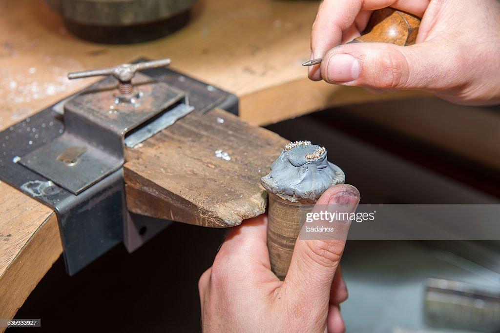 jeweler : Stock Photo