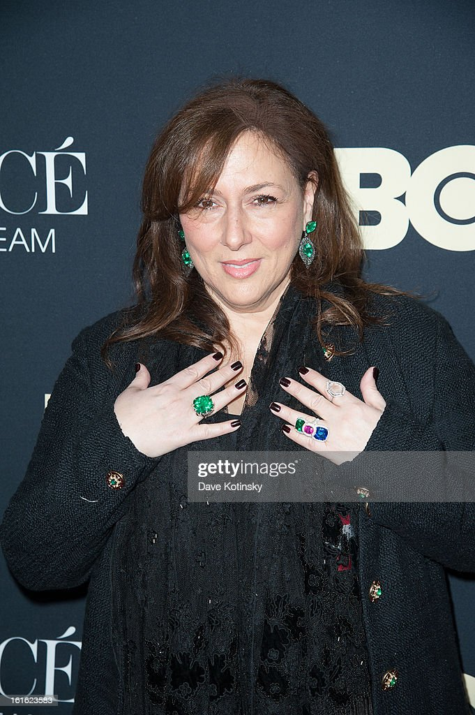 Jeweller Lorraine Schwartz attends the 'Beyonce: Life Is But A Dream' New York Premiere at Ziegfeld Theater on February 12, 2013 in New York City.