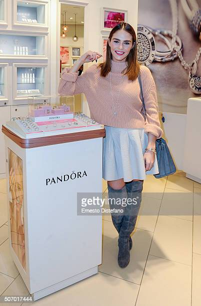 Jewellery Hosts InStore Event at Eaton Centre With TV Personality Maripier Morin on January 26 2016 in Toronto Canada