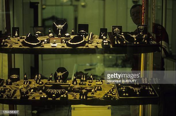 Jewellery in Istanbul bazar Turkey