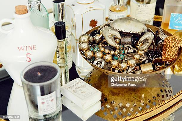 Jewelry designer Amanda Thomas's home is photographed for Domaine Home on August 20 2015 in Malibu California Published Image