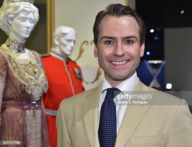 Jewelry designer Andrew Prince attends the Academy of Television Arts Sciences' Costume Design Nominee Reception at FIDM Museum Galleries on the Park...