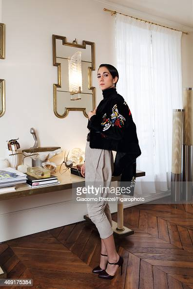Jewelry designer Delfina Delettrez is photographed for Madame Figaro on January 27 2015 in Rome Italy PUBLISHED IMAGE CREDIT MUST READ Giacomo...