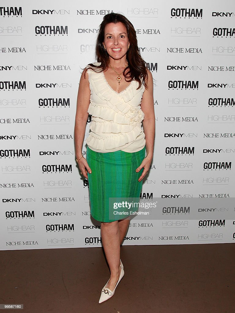 Jewelry designer Donna Distefano attends the Alex Rodriguez cover party hosted by Jason Binn & Niche Media's Gotham Magazine at Highbar on May 15, 2010 in New York City.