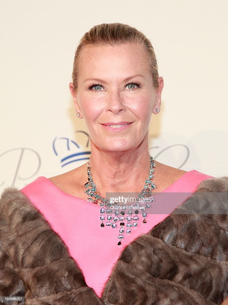 Jewelry designer Efva Attling attends 30th Anniversary Princess Grace Awards Gala at Cipriani 42nd Street on October 22, 2012 in New York City.