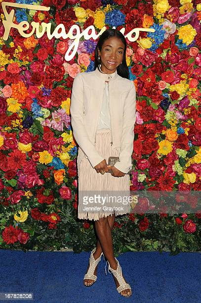 Jewelry designer Genevieve Jones attends the Ferragamo Celebrates The Launch Of L'Icona Highlighting The 35th Anniversary Of Vara at The McKittrick...