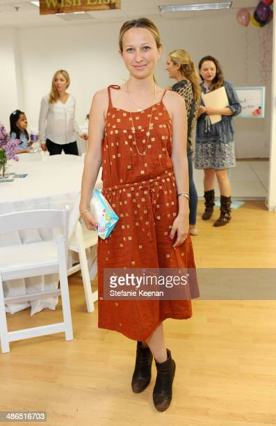 Jewelry designer Jen Meyer attends Baby2Baby Mother's Day Party presented by Tiny Prints at Baby2Baby Headquarters on April 24 2014 in Los Angeles...