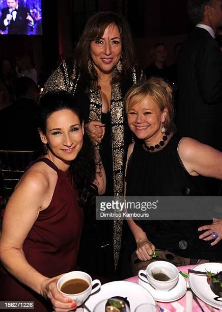 Jewelry Designer Lorraine Schwartz and Actress Caroline Rhea attend Gabrielle's Angel Foundation Hosts Angel Ball 2013 at Cipriani Wall Street on...