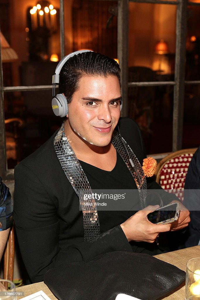 Jewelry designer Markus Molinari attends the SUPERDRY intimate dinner in celebration of the brand's Autumn/Winter 2013 Collection at Chateau Marmont on August 15, 2013 in Los Angeles, California.