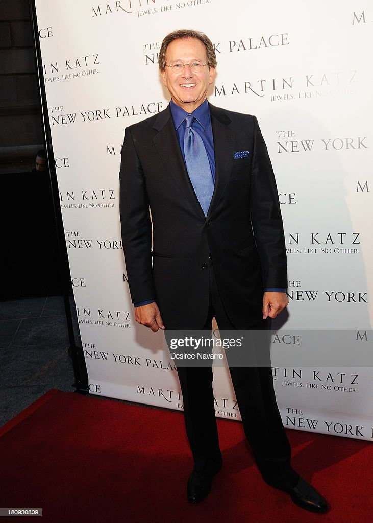 Jewelry designer Martin Katz attends The New York Palace's unveiling celebration at The New York Palace Hotel on September 17, 2013 in New York City.