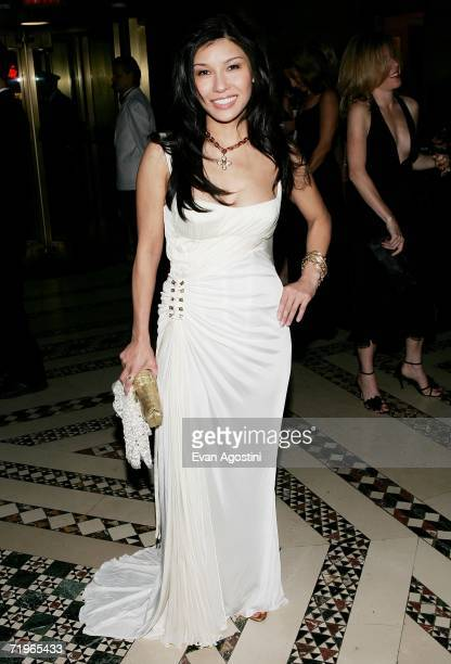 Jewelry designer Mimi So attends the New Yorkers For Children annual fall gala dinner at Cipriani's 42nd Street September 21 2006 in New York City