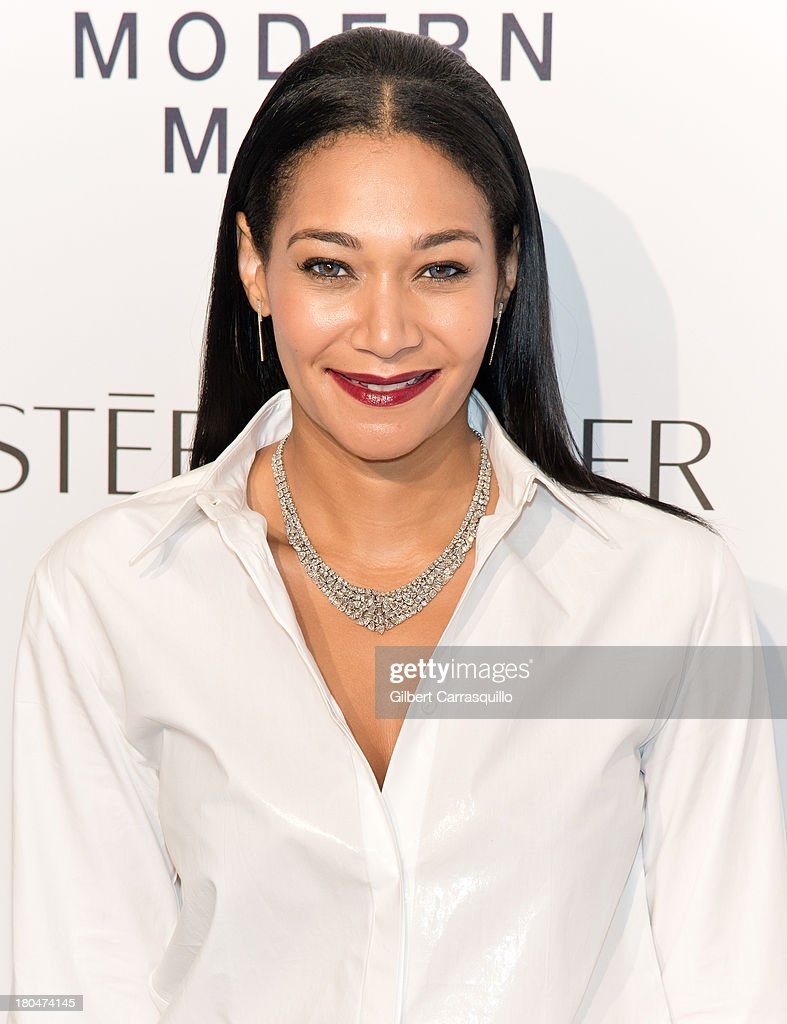 Jewelry Designer Monique Pean attends the Estee Lauder 'Modern Muse' Fragrance Launch at Guggenheim Museum on September 12, 2013 in New York City.