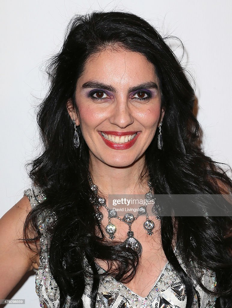 Jewelry designer Samira Kazemeni attends the Queen of the Universe International Beauty Pageant at the Saban Theatre on March 16, 2014 in Beverly Hills, California.