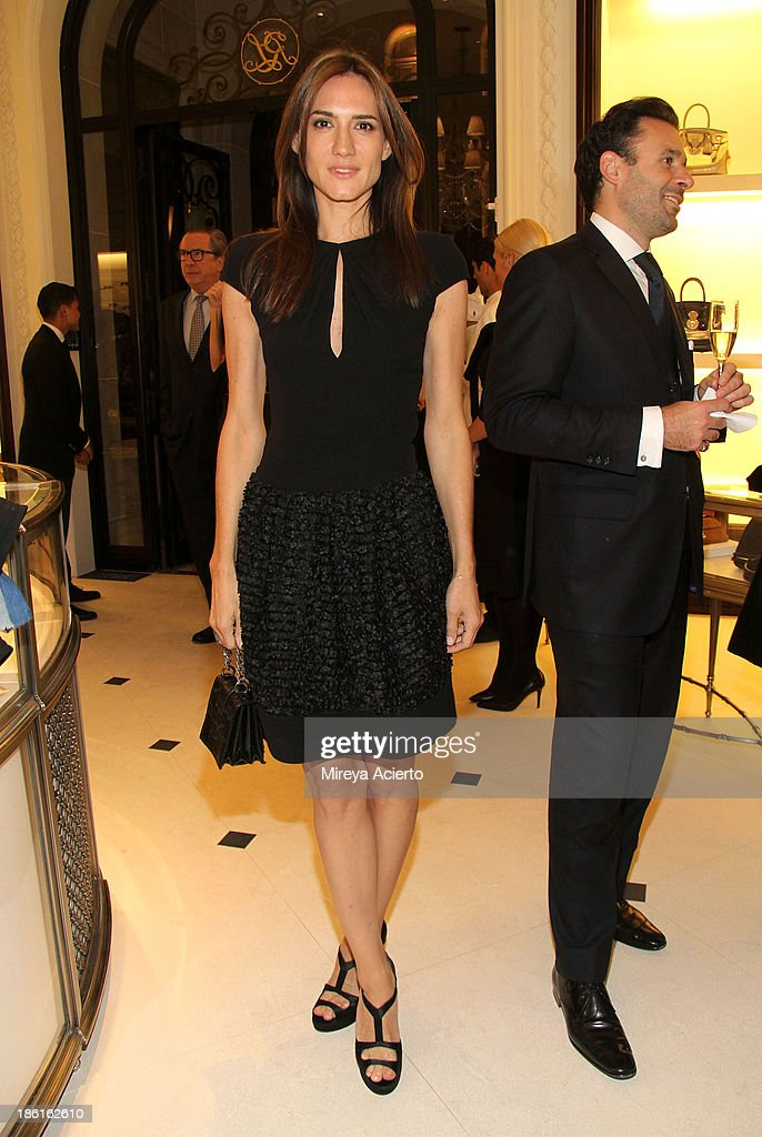 Jewelry designer Zani Gugelmann attends Ralph Lauren Presents Exclusive Screening Of Hitchcock's To Catch A Thief Celebrating The Princess Grace Foundation at Ralph Lauren Women's Store on October 28, 2013 in New York City.