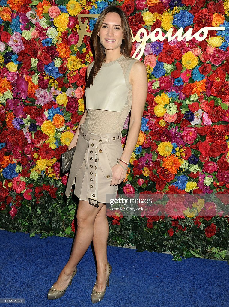 Jewelry designer Zani Gugelmann attends the Ferragamo Celebrates The Launch Of L'Icona Highlighting The 35th Anniversary Of Vara at The McKittrick Hotel, Home of Sleep No More on April 30, 2013 in New York City.