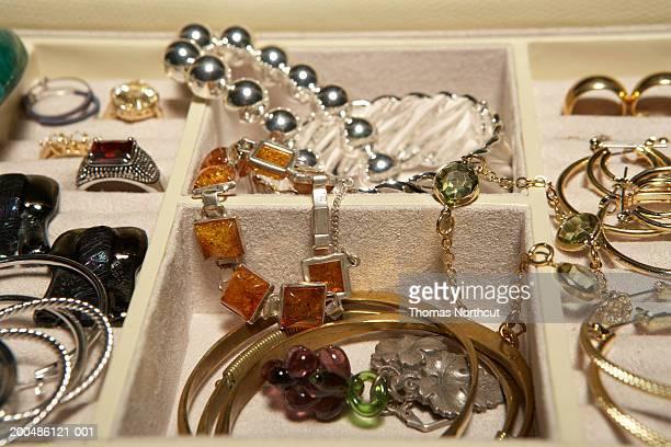 Jewelry in jewelry box, close-up