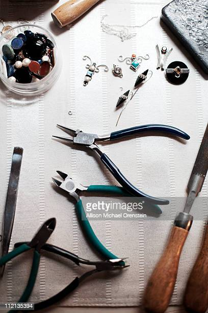 jewelry making tools and beads