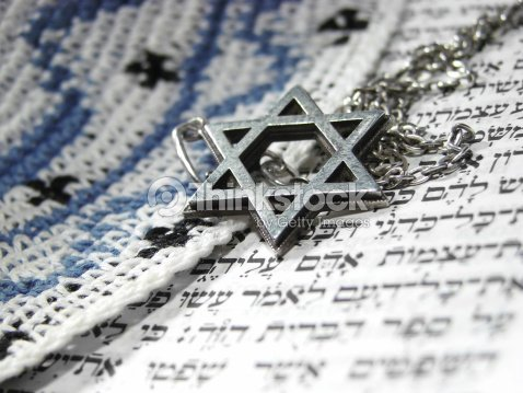 Jewish Religious Symbols Closeup 3 Stock Photo Thinkstock