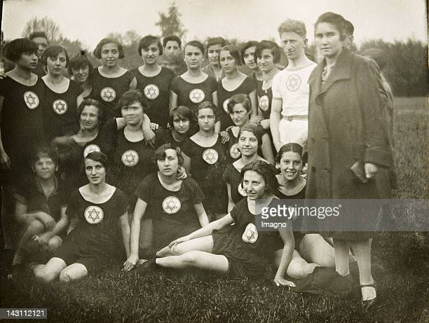 Jewish track and field athletes Germany Photograph Around 1930
