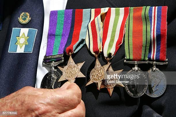 Jewish Veterans Commemorate VE Day In Jerusalem