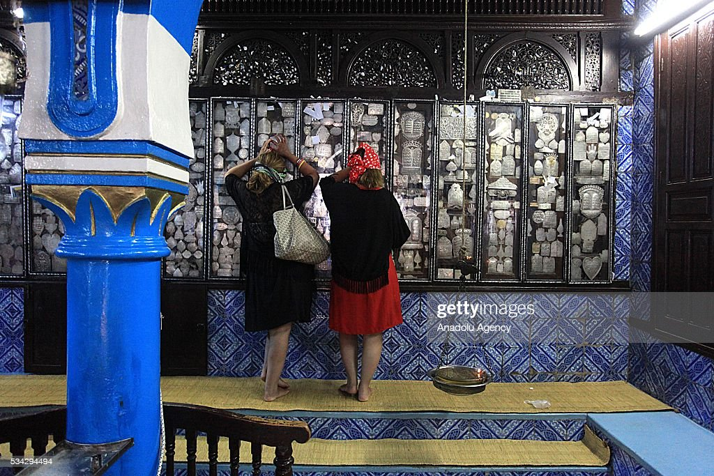 Jews from different countries visit Synagogue La ghriba to celebrate Lag BaOmer in Djerba, Tunisia on May 25, 2016.