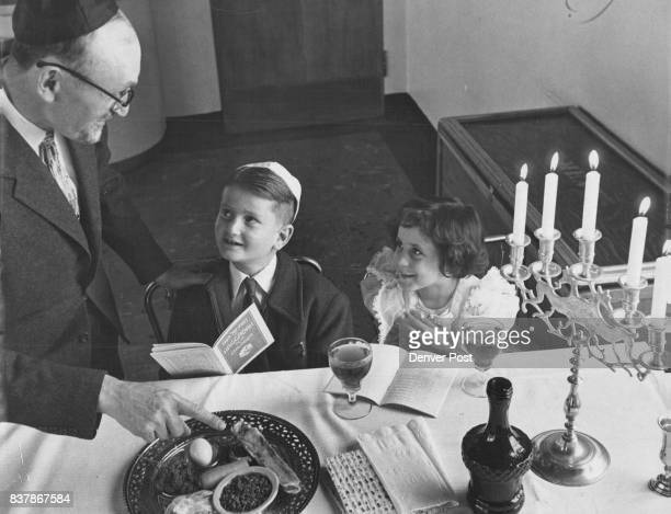 Jews Prepare for traditional Passover Observance Rabbi Chaim Davidovich of the Jewish National Home for Asthmatic Children 3447 W 19th Ave explains...