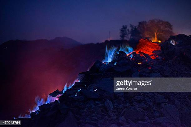 Jharia in India's eastern Jharkand state is literally in flames This is due to the open cast coal mining that takes place in the area For more than...